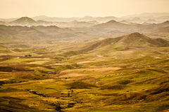 Le Moyen Atlas. A distance view from the Atlas mountain in Morocco Royalty Free Stock Images