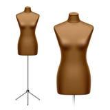 Le muet du tailleur féminin, mannequin illustration libre de droits