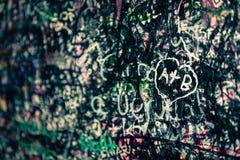 Le mur complètement des messages, Vérone, Italie Photo libre de droits