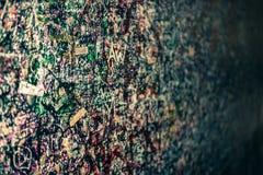 Le mur complètement des messages, Vérone, Italie Photos libres de droits