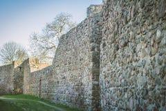 Le mur défensif photo libre de droits