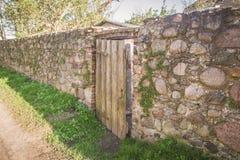 Le mur défensif photo stock
