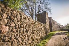 Le mur défensif photos stock