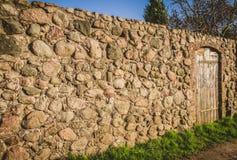 Le mur défensif image libre de droits