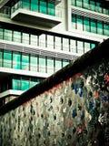Le mur de Berlin Photos libres de droits