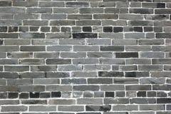 Le mur de briques dans Kowloon a muré la ville photo stock