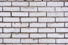 Le mur de briques est vrai et lisse photo stock