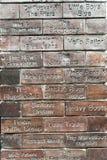 Le mur de caverne de la renommée Image stock
