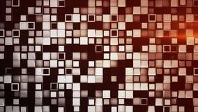 Le mur de 3D blanc et noir enferme dans une boîte le fond abstrait illustration libre de droits