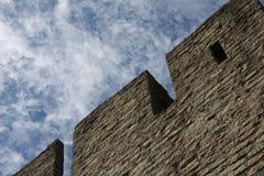 Le mur de forteresse Photo stock