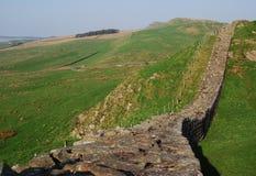 Le mur de Hadrian photographie stock libre de droits