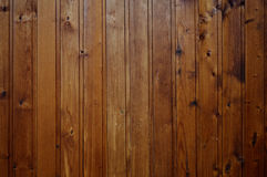 Le mur de la maison en bois Image libre de droits