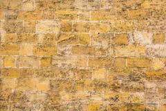 Le mur de la texture de pierre de sable Photographie stock