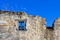 Le mur de la vieille maison Image libre de droits