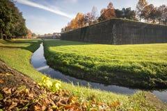 Le mur de Lucques Photo stock