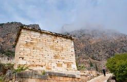 Le mur de marbre photographie stock