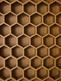 Le mur de ruche Photo stock