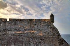 Le mur de San Cristobal Photographie stock libre de droits