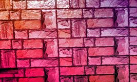 Le mur a donn? au fond une consistance rugueuse avec le fond d'effet de colourfull Backgroundhead, lumi?re images stock