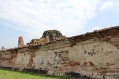 Le mur du temple Image libre de droits