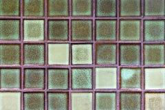Le mur du verre ajuste la couleur verte pour le fond Photos stock