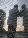 Le mur du Vietnam Photographie stock libre de droits