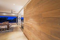 Le mur en bois Photos libres de droits