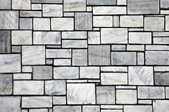 Le mur en céramique d'ardoise grise couvre de tuiles le fond Photo stock