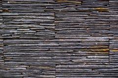 Le mur en pierre gris photo libre de droits