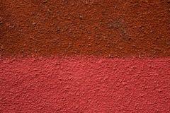Le mur est divisé Photo stock