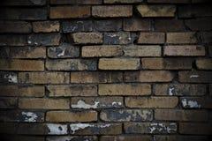 Le mur foncé Photographie stock