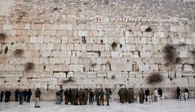 Le mur occidental. Images libres de droits