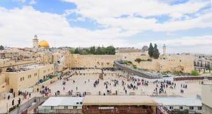Le mur occidental Images libres de droits