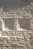 Le mur plâtré blanc - 3. photo stock
