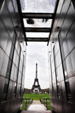 Le mur pour la paix à Paris Photographie stock libre de droits