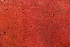 Le mur rouge raye la texture photos stock