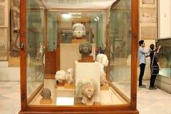Le musée égyptien de l'intérieur Photographie stock libre de droits