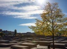 Le musée commémoratif Berlin, Allemagne d'holocauste juif photographie stock