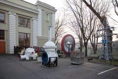 Le musée d'énergétique et de technologie à Vilnius Images libres de droits