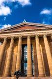 Le Musée d'Art de Philadelphie images libres de droits
