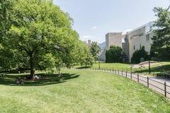 Le Musée d'Art métropolitain - vue de Central Park Image stock