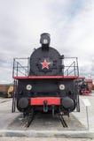 le musée d'histoire d'objet exposé de machine à vapeur, Ekaterinburg, Russie, Images libres de droits