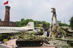 Le musée d'histoire militaire du Vietnam Image libre de droits