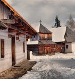 Le musée dans Pribylina Images libres de droits