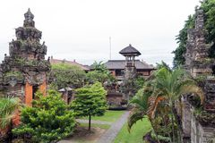 Le musée de Bali Image stock