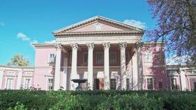 Le musée de beaux-arts d'Odesa, un monument d'architecture de début du 19ème siècle, a été fondé en 1899 banque de vidéos