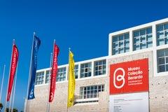 Le musée de collection de Berardo à Lisbonne Photographie stock libre de droits