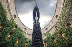 Le musée de Dali dans Figueras l'espagne Images libres de droits