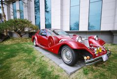 Le musée de Jeju d'automobile du monde Images stock