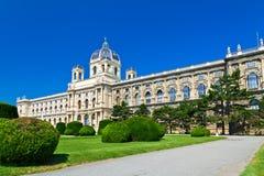 Le musée de Kunsthistorisches à Vienne photographie stock libre de droits